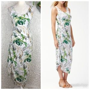 NWT Tommy Bahama Don't Leaf Me Now Midi Dress | S